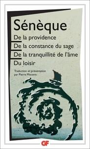 Livres gratuits pour les nuls télécharger De la providence  - De la constance du sage.De la tranquillité de l'âme.Du loisir