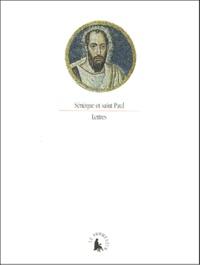 Sénèque et  Paul Saint - Lettres.