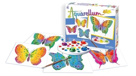SENTOSPHERE - Aquarellum Junior Les Papillons