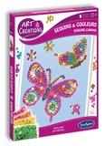 SENTOSPHERE - kit art&créations - sequins et couleurs Papillons de SentoSphère