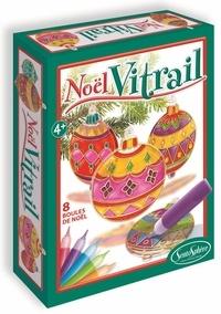 SENTOSPHERE - Mobile Vitrail Boules de Noël