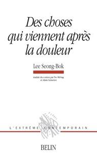 Seong-Bok Lee - Des choses qui viennent après la douleur - Les eaux bleues de Namhae Gumsan.