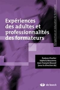 Deedr.fr Expériences des adultes et professionnalités des formateurs Image