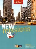 Séraphine Lansonneur - Anglais 1re B1-B2 New missions. 1 DVD