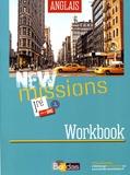 Séraphine Lansonneur - Anglais 1re B1-B2 New Missions - Workbook.