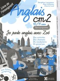 Deedr.fr Anglais CM2 10-11 ans, Je parle anglais avec Zoé - Livre de l'enseignant Image