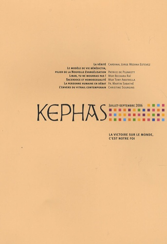 Bruno Le Pivain et Jorge Medina Estévez - Kephas N° 19, Juillet-septe : .