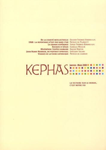 Bruno Le Pivain et Olivier-Thomas Venard - Kephas N° 25, Janvier-mars : .