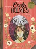 Serena Blasco - Les enquêtes d'Enola Holmes Tome 3 : Le mystère des pavots blancs - Inclus : un herbier.