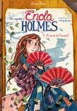 Serena Blasco - Les enquêtes d'Enola Holmes Tome 4 : Le secret de l'éventail.
