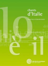 Serena Facci et Gabriella Santini - Chants d'Italie. 1 CD audio