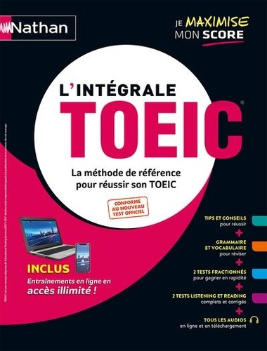 L'intégrale TOEIC  Edition 2020