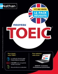 Serena Murdoch-Stern et David Mayer - Le pack réussite TOEIC. 4 CD audio MP3