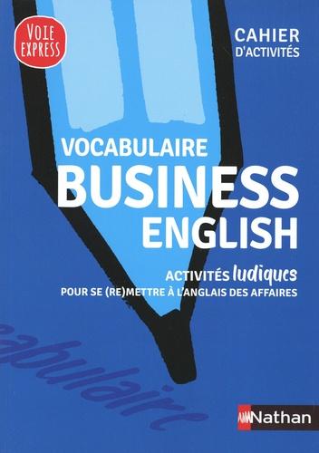 Vocabulaire business english. Cahier d'activités