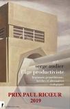 Serge Audier - L'âge du productivisme - Hégémonie prométhéenne, brèches et alternatives écologiques.