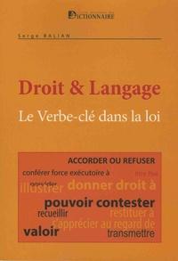 Droit & langage - Le verbes-clés dans la loi.pdf