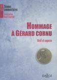 Serge Balian et Jean-Louis Baudouin - Hommage à Gérard Cornu - Droit et sagesse.