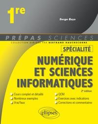 Serge Bays - Spécialité Numérique et sciences informatiques - Première.