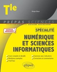 Serge Bays - Spécialité numérique et sciences informatiques Tle.