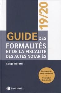 Guide des formalités et de la fiscalité des actes notariés - Serge Bérard pdf epub