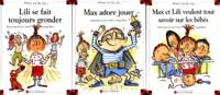 Deedr.fr Max et Lili : Lili se fait toujours gronder ; Max adore jouer ; Max et Lili veulent tout savoir sur les bébés - Mallette Image