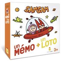 Serge Bloch et Astrid Scaramus - Samsam - Un mémo + un loto.