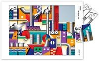 Serge Boëche - Puzzle à la manière de Léger.