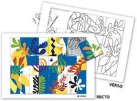 Serge Boëche - Puzzle à la manière de Matisse.