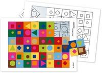 Serge Boëche - Puzzle à la manière de Vasarely.