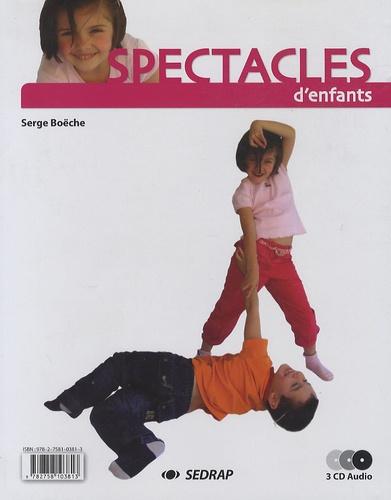 Serge Boëche - Spectacles d'enfants. 3 CD audio