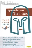 Serge Boimare - Apprendre avec Hermès cycles 2 et 3 (CP à 6e) - Mallette pédagogique contenant : un guide pédagogique, un bloc de 100 fiches pédagogiques, un jeu de 64 cartes, deux posters + 33 étiquettes autocollantes. 1 DVD