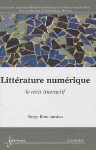Serge Bouchardon - Littérature numérique - Le récit interactif.