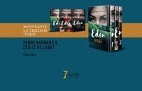 Serge Boudoux et Cécile de Laget - Le coffret de la trilogie Eden - Coffret en 3 volumes : Le serpent qui siffle dans ma tête ; L'ange de la mort est assis sur mon banc ; Ainsi soit-elle.