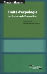 Serge Chaumier - Traité d'expologie - Les écritures de l'exposition.