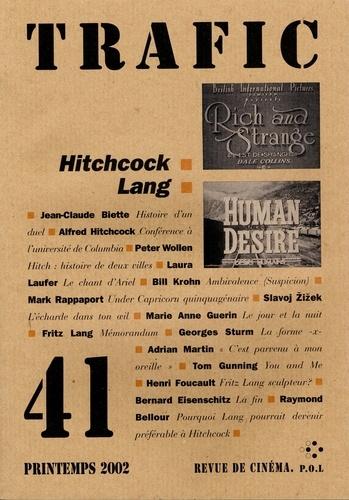 Trafic N° 41, Printemps 200 Hitchcock / Lang