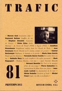 Serge Daney - Trafic N° 81, printemps 201 : .