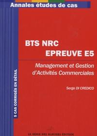 Histoiresdenlire.be Annales études de cas BTS NRC Epreuve E5 - Management et gestion d'activités commerciales Image