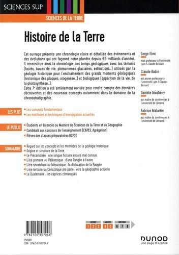 Histoire de la Terre 7e édition