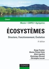 Serge Frontier et Denise Pichod-Viale - Écosystèmes - 4e éd. - Structure, Fonctionnement, Évolution.
