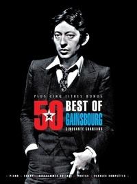 Serge Gainsbourg - Best of Gainsbourg - Cinquante chansons plus cinq titres bonus.