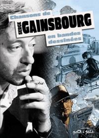 Serge Gainsbourg - Chansons de Serge Gainsbourg en bandes dessinées.