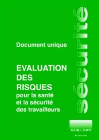 Deedr.fr Document unique d'évaluation des risques pour la santé et la sécurité des travailleurs Image