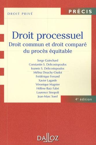 Serge Guinchard et Constantin-S Delicostopoulos - Droit processuel - Droit commun et droit comparé du procès équitable.