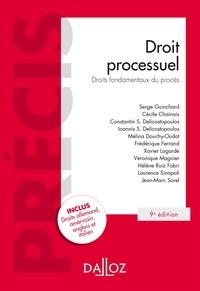 Serge Guinchard et Laurence Sinopoli - Droit processuel. Droits fondamentaux du procès.