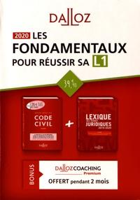 Serge Guinchard et Thierry Debard - Les fondamentaux pour réussir sa L1 - 2 volumes, Code civil annoté ; Lexique des termes juridiques.