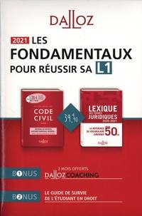 Serge Guinchard et Thierry Debard - Les fondamentaux pour réussir sa L1 - Pack en 2 volumes : Code civil annoté ; Lexique des termes juridiques.