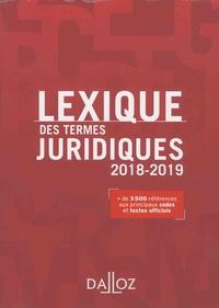 Serge Guinchard et Thierry Debard - Lexique des termes juridiques.