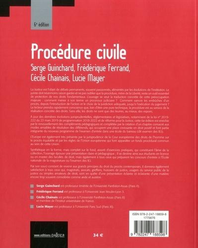 Procédure civile 6e édition
