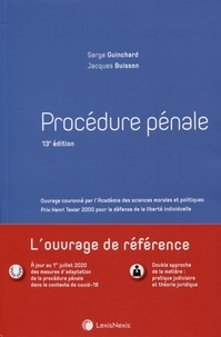 Serge Guinchard et Jacques Buisson - Procédure pénale.