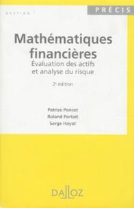 MATHEMATIQUES FINANCIERES. Evaluation des actifs et analyse du risque, 2ème édition 1996.pdf